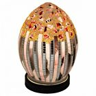 Mini Mosaic Glass Egg Lamp Art Deco