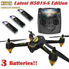 Hubsan H501S Quadcopter 58G FPV Brushless 1080P GPS Drone RTF H501SS +3Battery