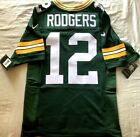 Aaron Rodgers Green Bay Packers 2018 authentic Nike ELITE stitched game jersey