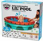 BigMouth Inc Inflatable Kiddie Pool Durable Plastic Baby Pool Watermelon NEW