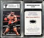 Mike Tyson Boxing Cards and Autographed Memorabilia Guide 11
