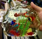 218 Murano Barbini Cenedese Italian Art Glass Fish Aquarium Sculpture