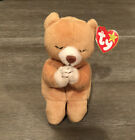 Hope Bear (Praying) Beanie Baby; Pristine Condition- Rare! Errors On Tag; MINT