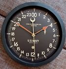 Wall Clock 24 hours Chelsea Boston WWII US NAVY Maritime Ship