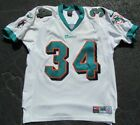Ricky Williams Authentic Miami Dolphins Stitched Nike White Jersey Men 44 Rare