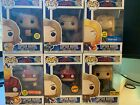 Captain Marvel Funko Pop lot 433, 425, 435, 444, 432, 516 chase exclusives
