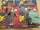 Vintage 1988 Pee-Wee Herman & Chairy Action Figure Set 2 Matchbox EXCELLENT!!
