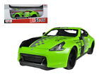 OR 246 2009 Nissan 370Z 88 Green 1 24 Diecast Model Car by Maisto