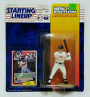 J.T. SNOW - CALIFORNIA ANGELS Starting Lineup MLB SLU 1994 Action Figure & Card