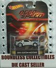 HOT WHEELS NEED FOR SPEED 2014 SILVER FORD CUSTOM MUSTANG RETRO ENTERTAINMENT