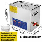 Ultrasonic Cleaner 1-30l With Heater Timer For Parts Glasses Jewelry Ultrasound