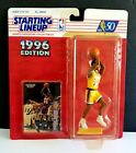 EDDIE JONES LOS ANGELES LAKERS 1996 STARTING LINEUP BASKETBALL NEW SEALED EXCELL