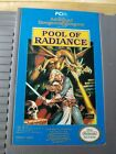Advanced Dungeons  Dragons Pool of Radiance Nintendo NES Game Only RARE