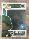 Funko POP! John Diggle #212 The Arrow Underground Toys Exclusive + Protector I02