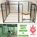 8 Panels Extra Large Dog Pen Puppy Playpen Kennel 40 Inch Tall with Door New