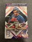 2020 Topps Fire Hobby Box Brand New Sealed! 2 Autographs Per Box!