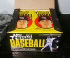 2012 TOPPS HERITAGE HOBBY 9 CARD PACKS LOT OF 2 ! TROUT RC ? BOX FRESH SMOKIN' !