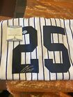 New York Yankees Gleyber Torres Autographed Signed Authentic Jersey Beckett COA