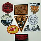 Stranger Things Series Ultimate Set of 9 Iron On Embr Patch Superior Quality