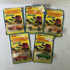 Lot Of 5 Vintage Matchbox Superfast Cars 1976 Die Cast Damaged Boxes