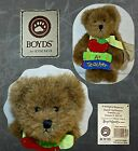 Boyds Bears Plush INSPIRE B BEAR  Thinkin Of Ya Series Teacher Bear NWT