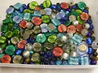 4 LBS Assorted Large India Handmade Focal Foil Glass Beads Wholesale Lot F 50