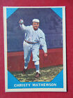 Christy Mathewson Cards and Autograph Guide 6