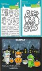 Lawn Fawn COSTUME PARTY Clear Stamps  Lawn Cuts Die Set LF1458 LF1459 Halloween