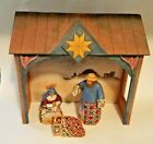 2004 HEARTWOOD CREEK 4 PC MINI NATIVITY SET ENESCO JIM SHORE