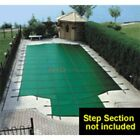 16 x 32 Rectangular Green Solid Pool Safety Cover