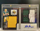 2016 Playbook Brett Favre Jersey Auto Booklet 10 - Game Used!!!