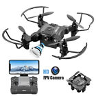 Mini Drone 4DRC V2 Selfie WIFI FPV With HD Camera Foldable Arm RC Quadcopter US