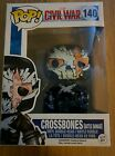FUNKO POP BATTLE DAMAGED CROSSBONES TARGET EXCLUSIVE (MARVEL, CIVIL WAR)