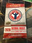 2020 UD Upper Deck National Hockey Card Day Booster Pack | 1 pack | rare