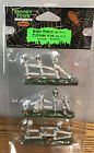 Lemax Spooky Town Bone Fence (Set of 3) RETIRED Halloween Village