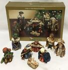 Dillards 8 Piece Childrens Nativity Set New
