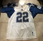 AUTHENTIC STARTER EMMITT SMITH DALLAS COWBOYS DOUBLE STAR JERSEY 48