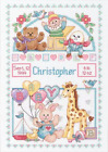 Dimensions Counted Cross Stitch Kit Baby Birth Record