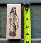 Rubber Stamp of Great Plain Native Woman by Sutter Enterprise