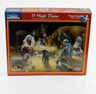 WHITE MOUNTAIN PUZZLE 1000 PIECES O NIGHT DIVINE RARE NATIVITY CHRISTMAS