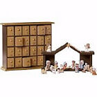 Nativity Advent Calendar w Storybook Set Of 26