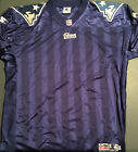 1995-00 Starter NEW ENGLAND PATRIOTS Authentic Home Blue JERSEY Blank Sz 52 New