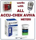 Accu Chek Aviva Diabetic Blood Glucose Test Strips Exp 2021 06 30 Fast Post
