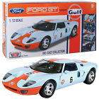 HUGE MOTORMAX 112 FORD GT CONCEPT NEW IN BOX DIECAST MODEL CAR GULF OIL 79639