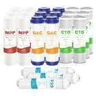 5 Stage Reverse Osmosis System RO Water Filter Replacement Sediment Cartridges