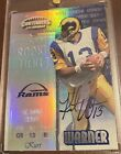 Kurt Warner Cards, Rookie Cards and Autographed Memorabilia Guide 7