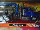New 1 32 Mack Logging Semi Truck and Trailer Die Cast with Logs