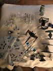 Star Wars Hot Wheels Starships Lot 18 plus stands