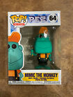 Funko Pop Ad Icons : PEZ : Mimic The Monkey Teal #64 Vinyl  In Stock