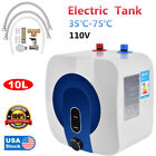 35 75 Home 10L Electric Tankless Hot Water Heater 110V Kitchen Bathroom NEW